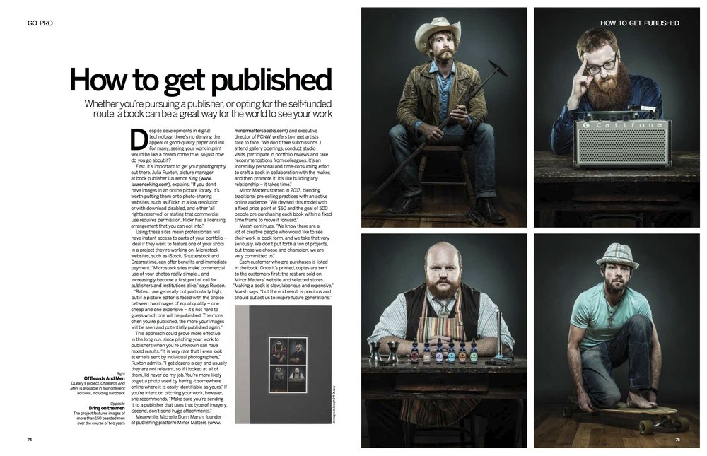 In-depth feature written for Digital Photographer magazine