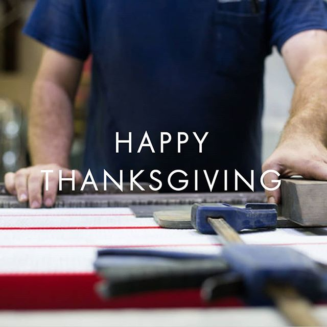 Happy Thanksgiving from our family to yours! #thanksgiving #family #waterjet