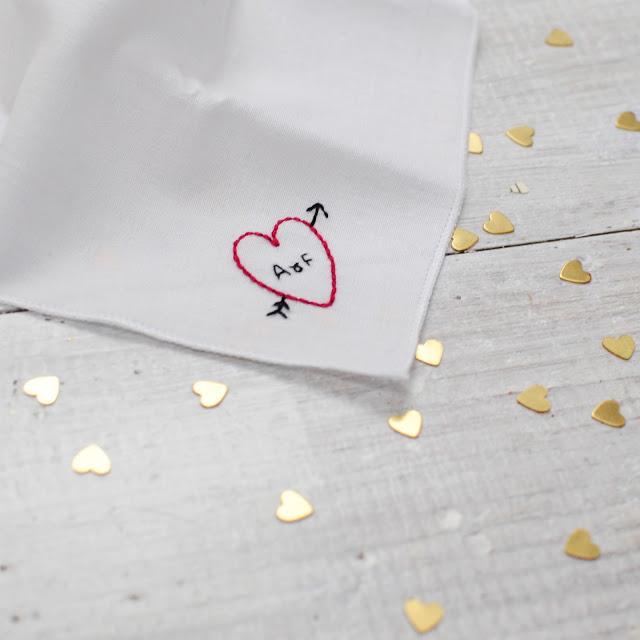 valentines hanky