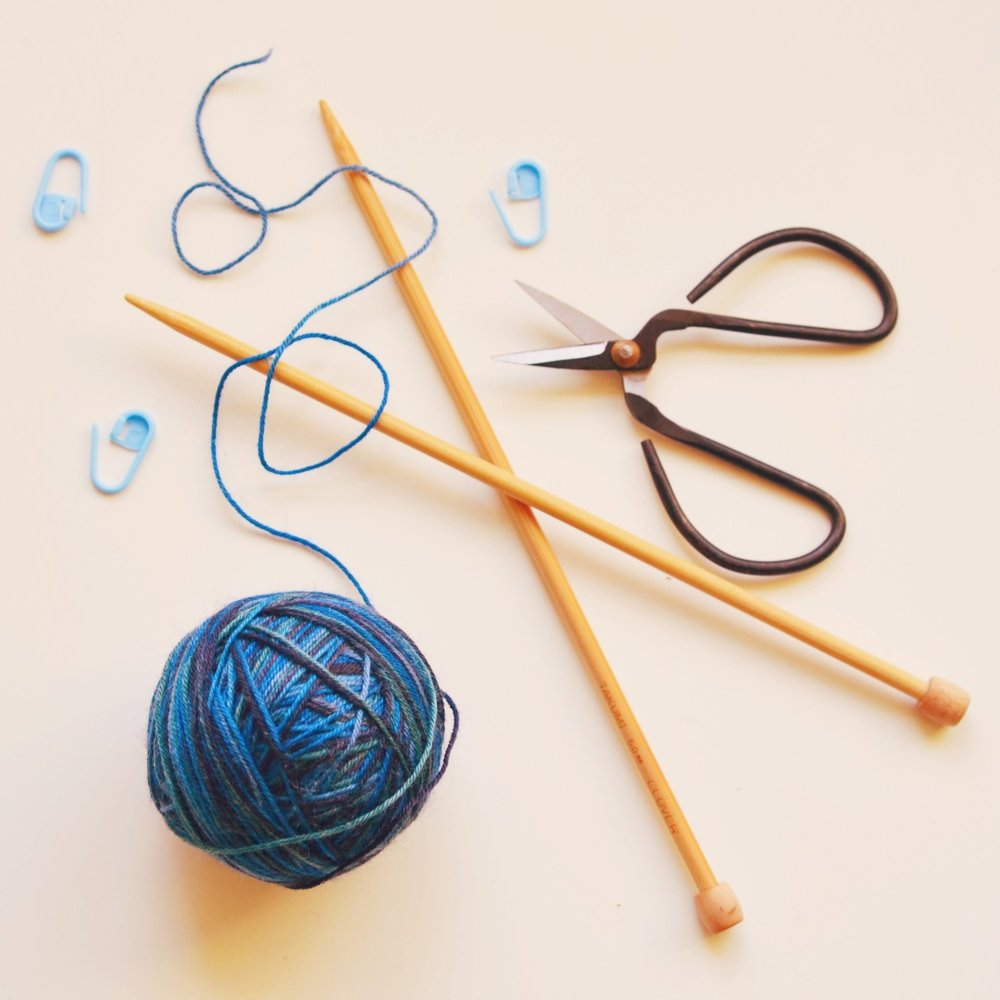 The health benefits of knitting by Joanna Payne at Simple Stylish Makes