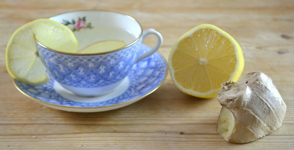 How to make lemon and ginger tea by Adventures & Tea Parties