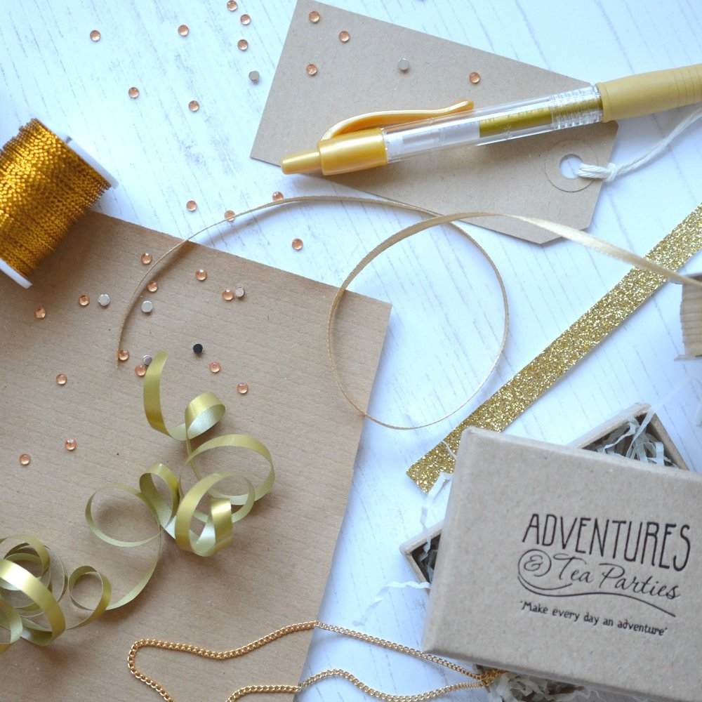 Adventures & Tea Parties Gift Wrapping