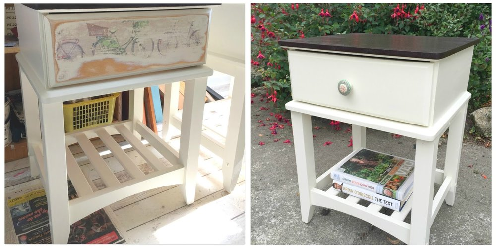 Upcycled Bedside locker