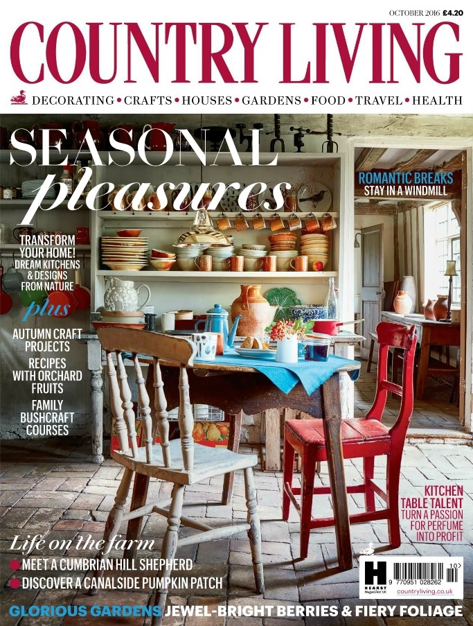 Country Living Magazine October 2016