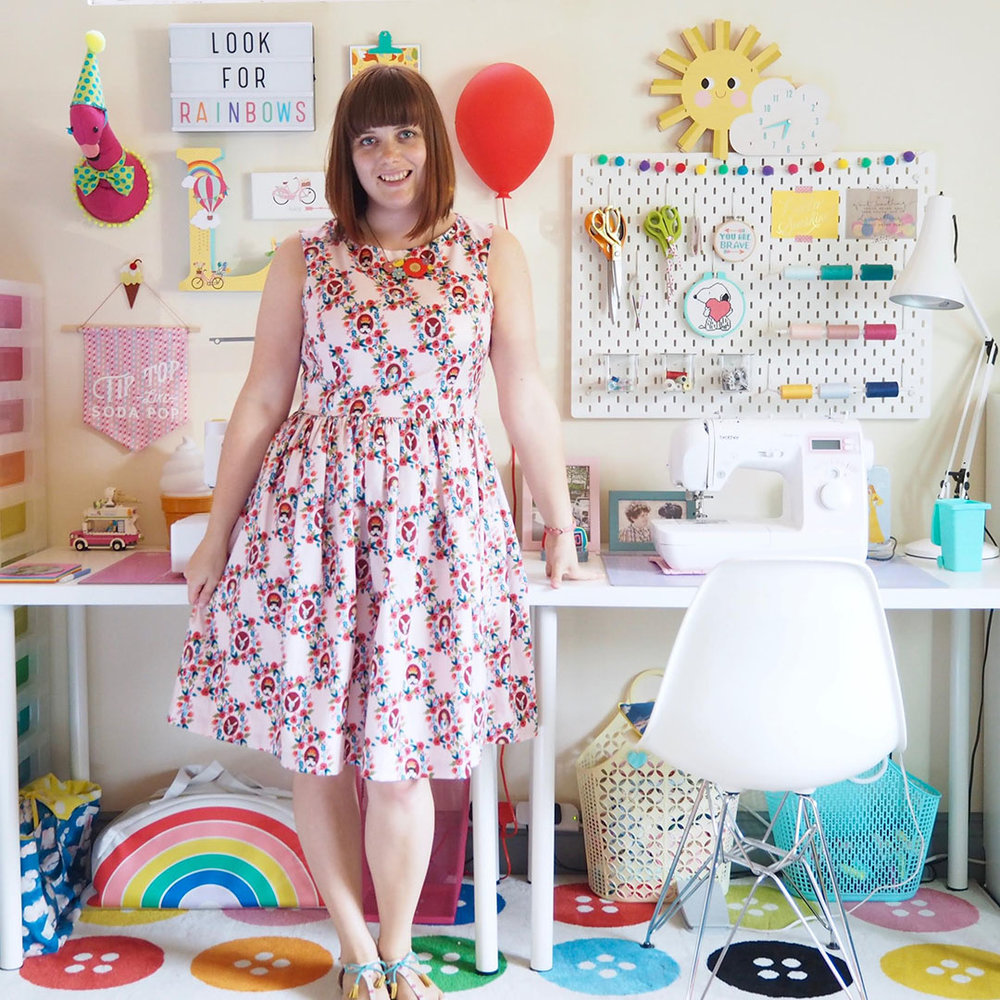 Interview with Lucy from creative business Smile and Make. Feature available at the Simple Stylish Makes blog. Written by Joanna Payne, creative lifestyle blogger and indie business owner at Adventures & Tea Parties.
