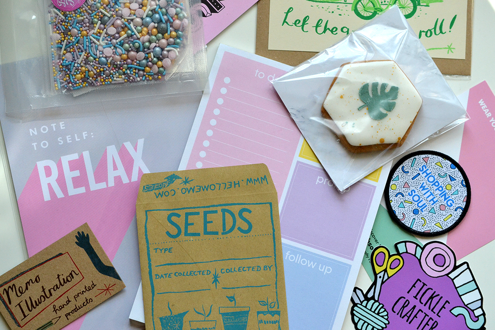 Items in the Blogtacular 2017 goodie bag. Photo taken by creative lifestyle blogger, Joanna Payne / Adventures & Tea Parties