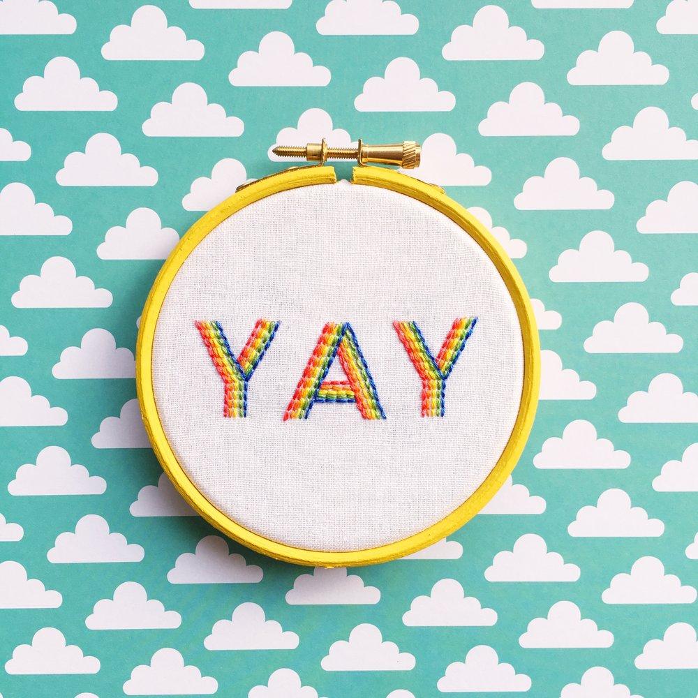 YAY mini hoop | Hello! Hooray!.jpg