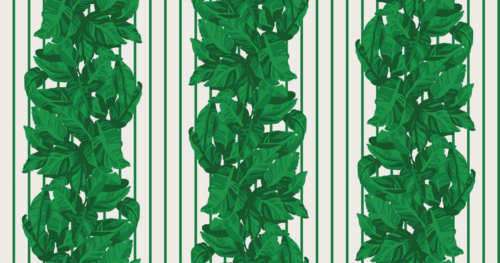 LLEWELLYN - green stripe