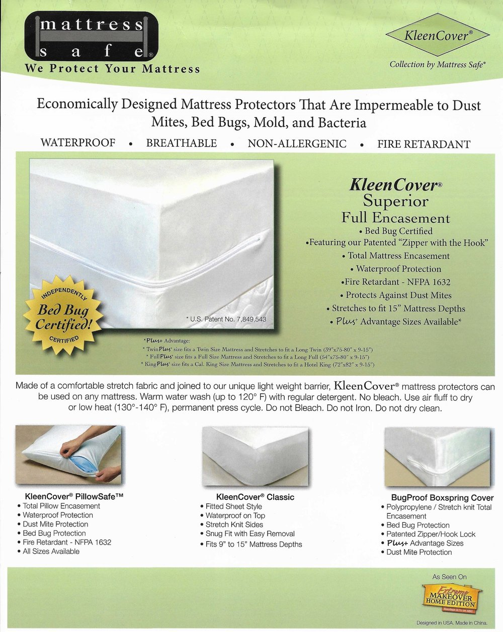 Mattress Safe® Encasements