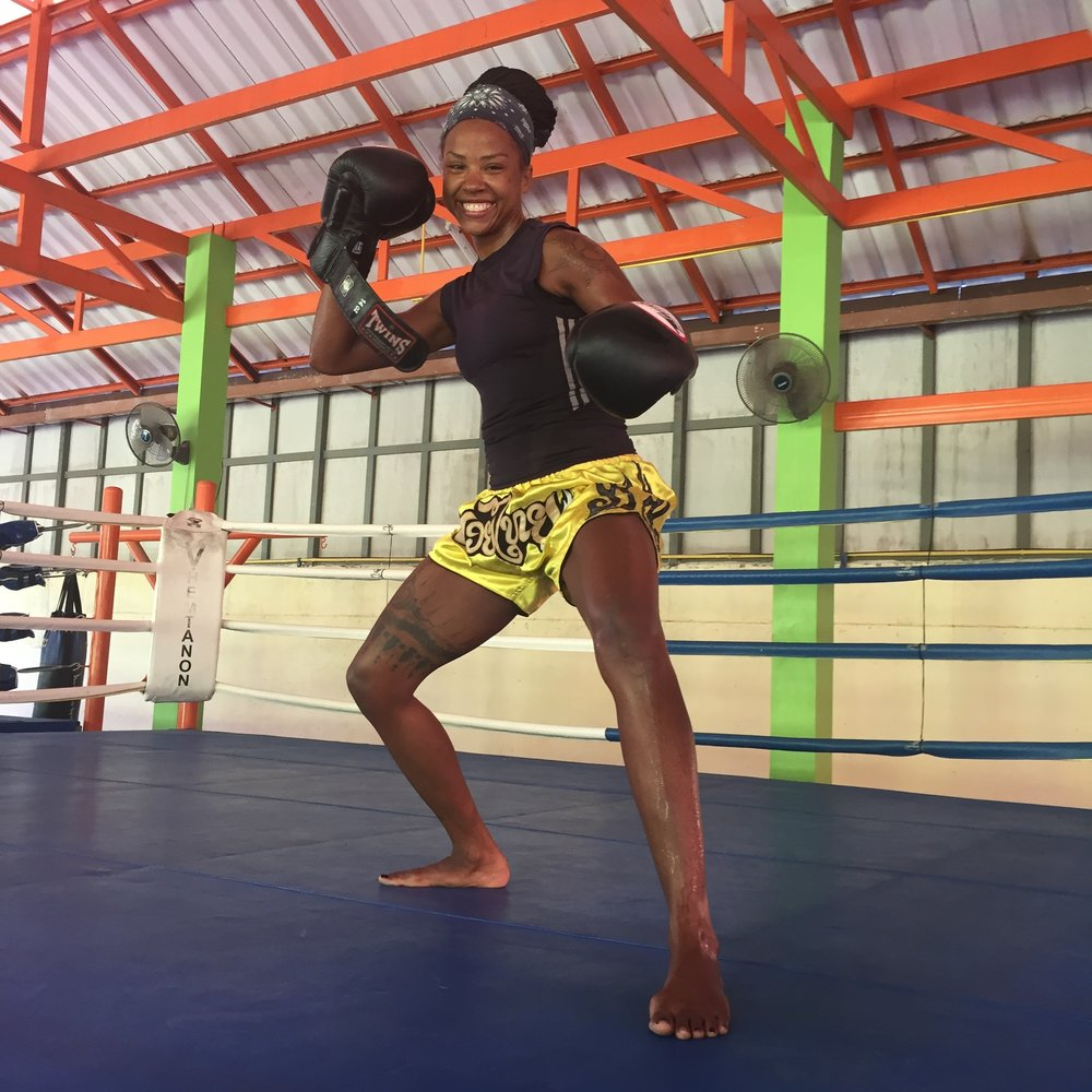 FARIDA     FIGHT TEAM LEADER, THAILAND