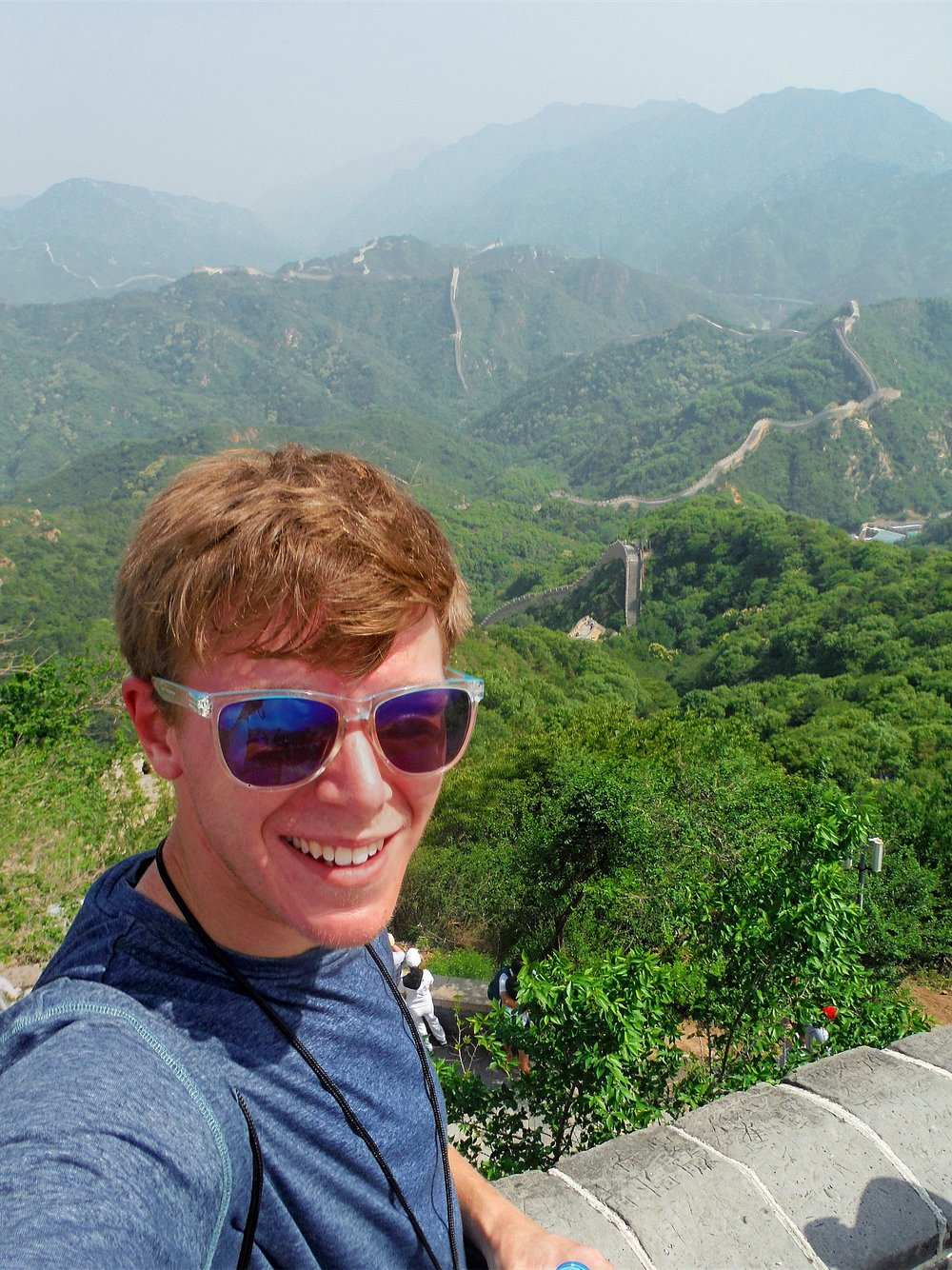 I traveled to China for two weeks in June, 2015. It was an unforgettable experience. I took a lot of pictures, but I think this was the only selfie. Or at least the only good one.