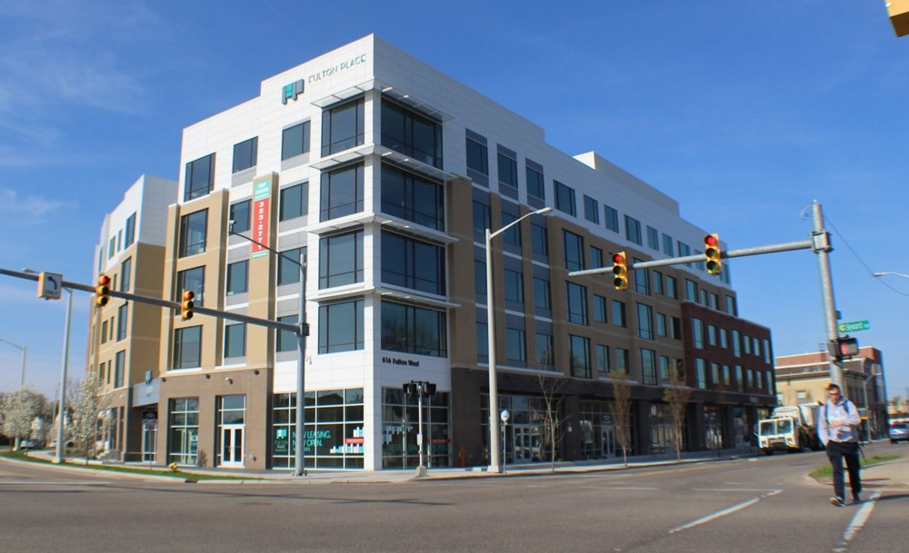 Developments like Fulton Place cater to students and GVSU employees, but also drive up property values and rental rates, pushing low-income families and individuals out of the neighborhood.