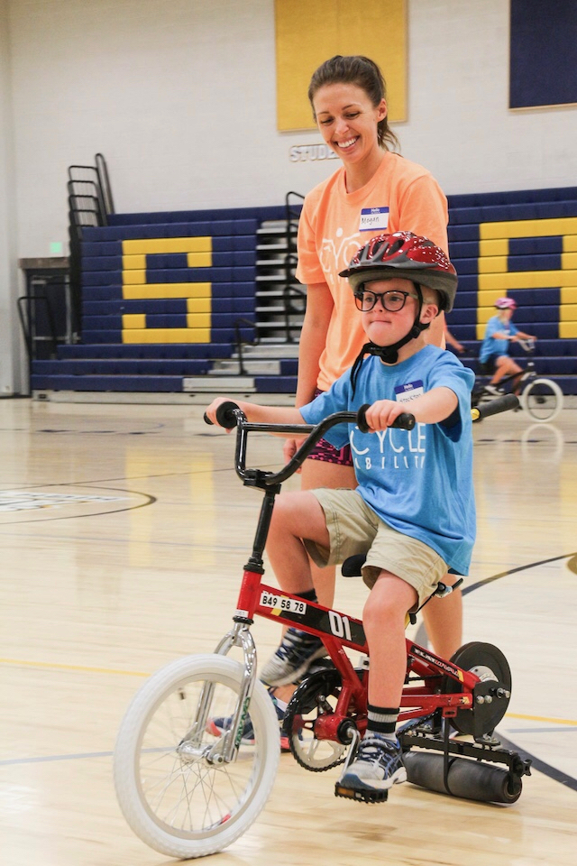 Cycling Education for All Abilities | Volunteer for Special Needs Bike Camp Utah | CycleAbility