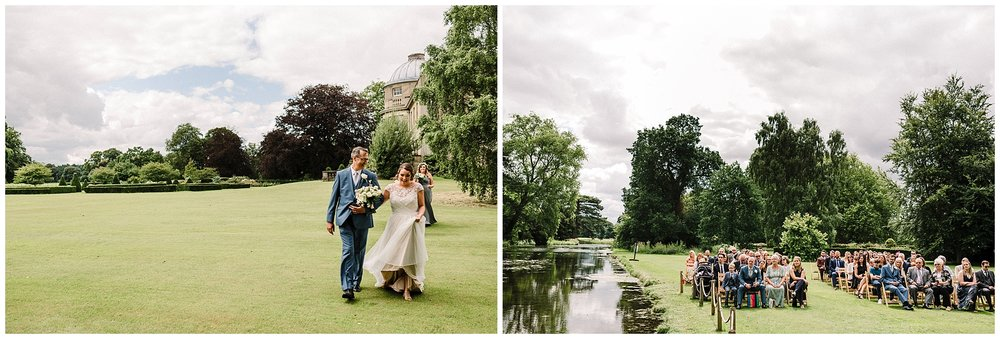 a wedding at scampston hall