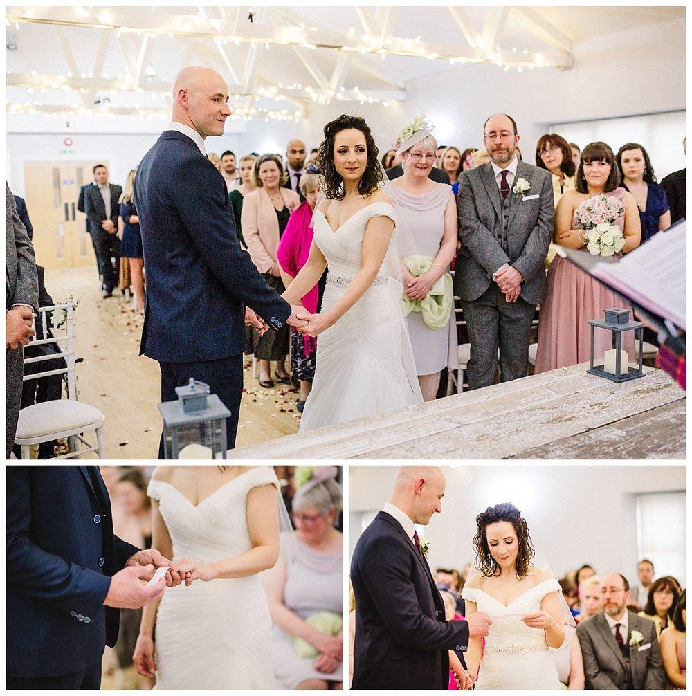 a barn wedding