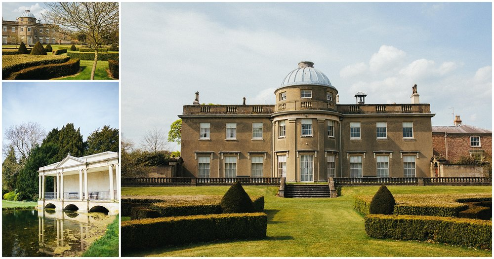Exterior photography for Scampston Hall & Gardens
