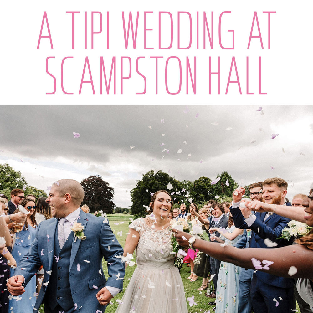 A Tipi Wedding at Scampston Hall