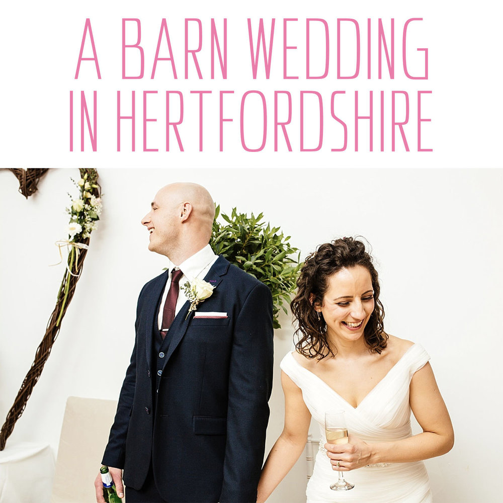 A wedding at Milling Barn in Hertfordshire
