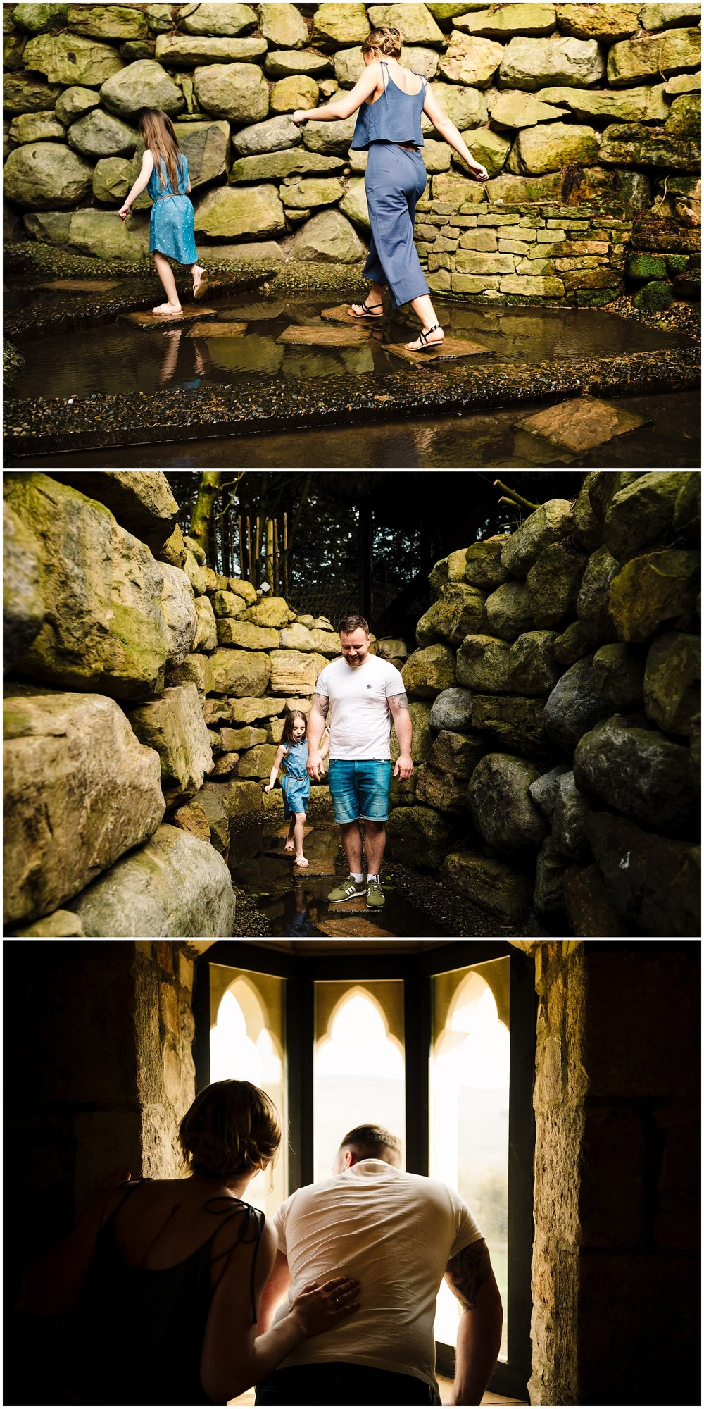 FORBIDDEN CORNER YORKSHIRE ENGAGEMENT SHOOT