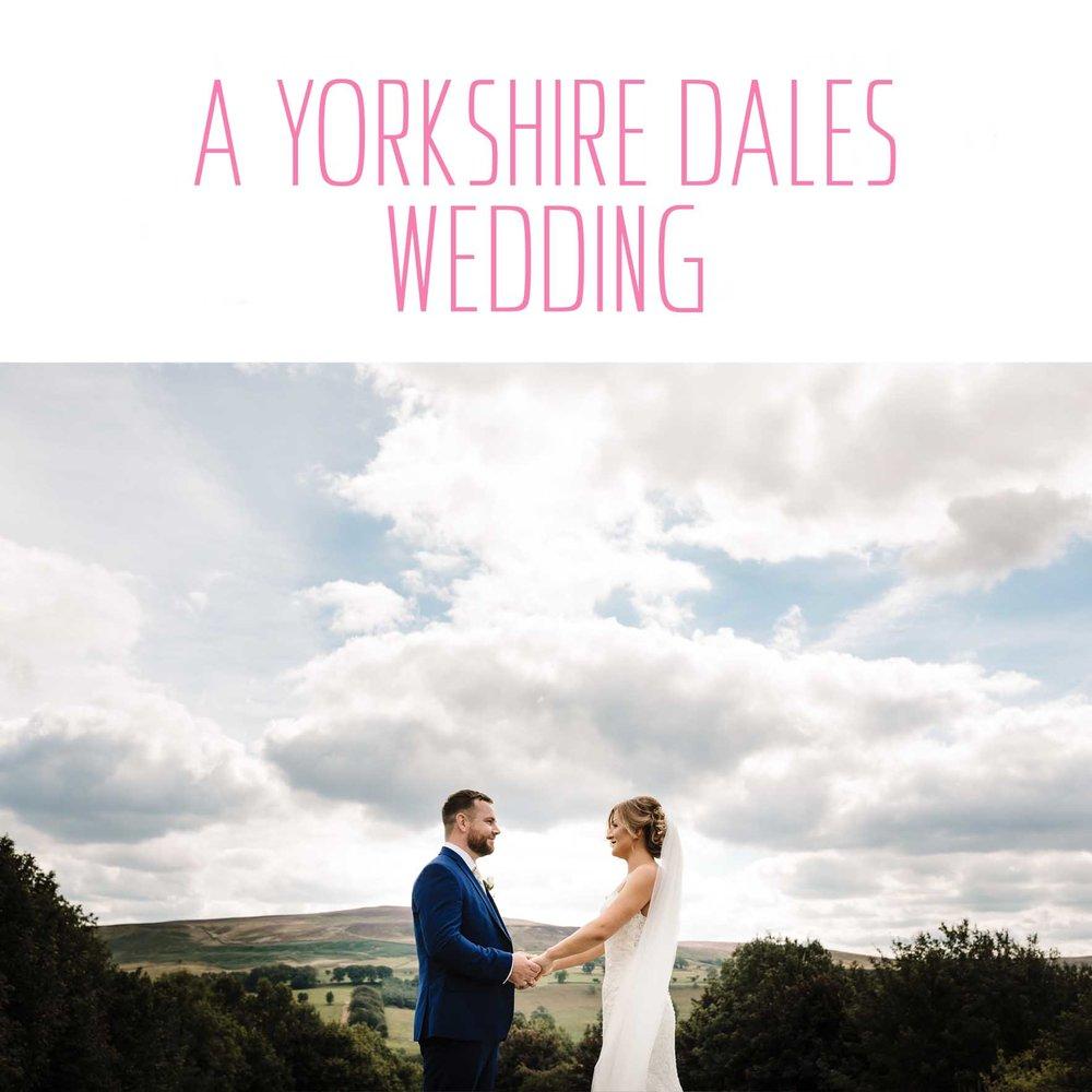 A YORKSHIRE DALES WEDDING