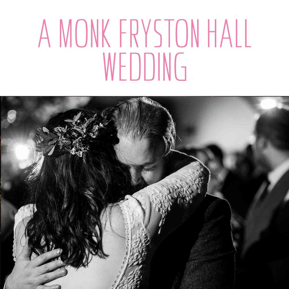 monk fryston hall wedding leeds