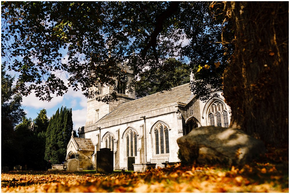 An image of All Saints Church in Bolton Percy near York