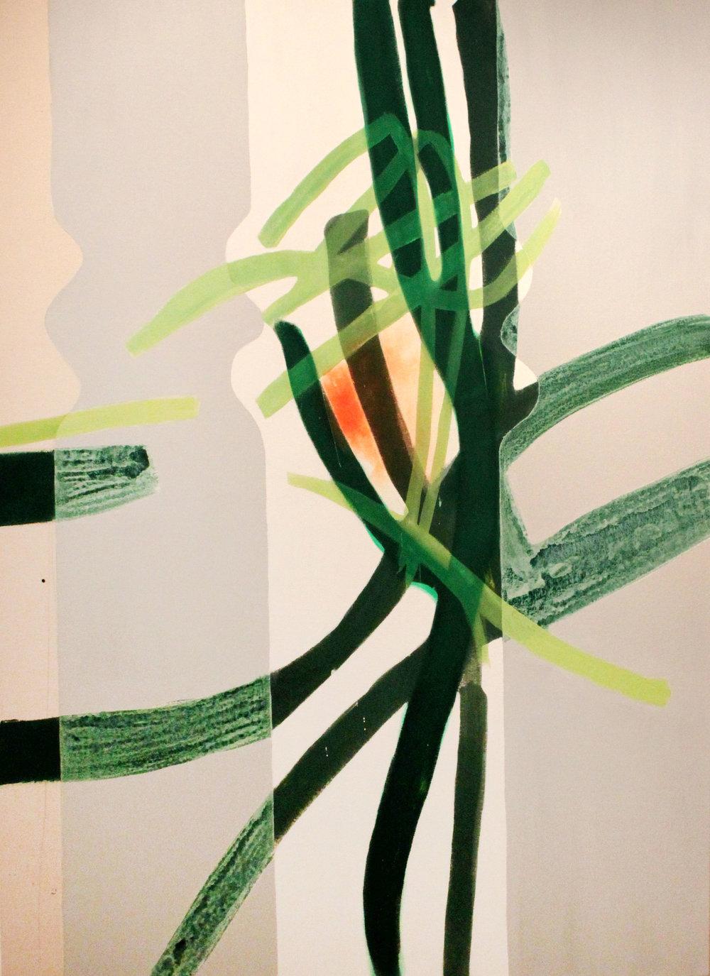 7:49–8:59 pm, 66x48, acrylic on canvas