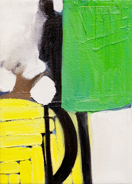 December VII , 11x8, oil on canvas