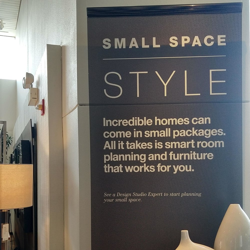SMALL SPACE STYLE BANNER // 2018