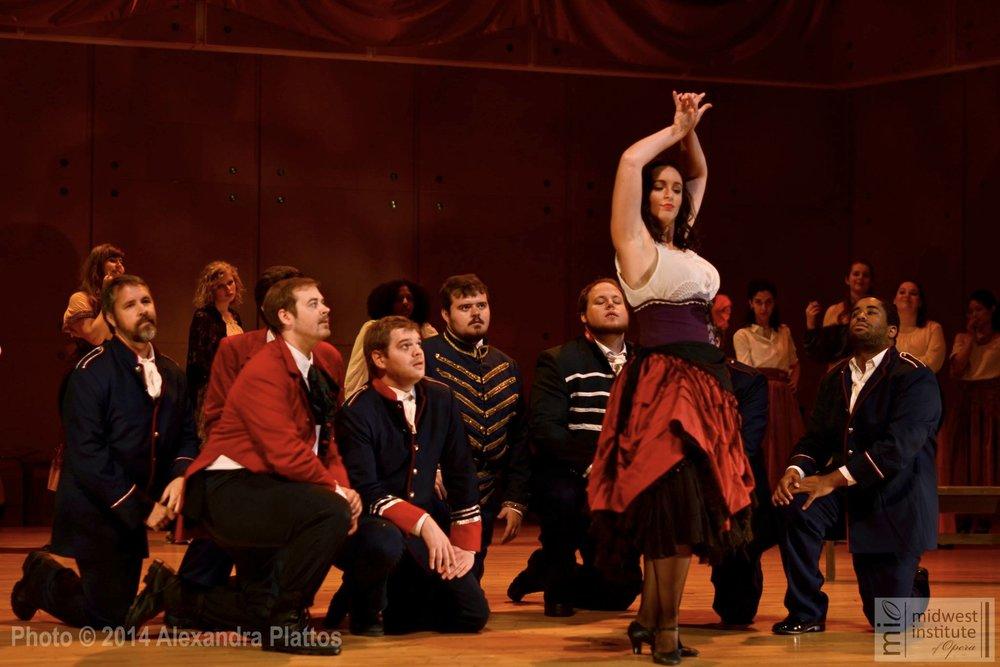 Bizet's Carmen 2014