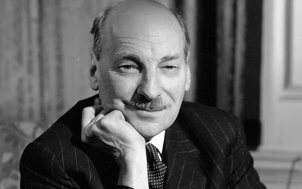 Clement Attlee, the former British Prime Minister who oversaw the decolonisation of British India. | Image source: Hulton Archives / Getty Images (  New Statesman  ).