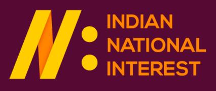 Indian National Interest