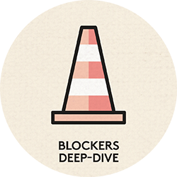 5 - Reviewing each of the organisational objectives, understand what the current blockers are: budget? skills? resource?