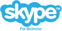 Old Skype for Business logo