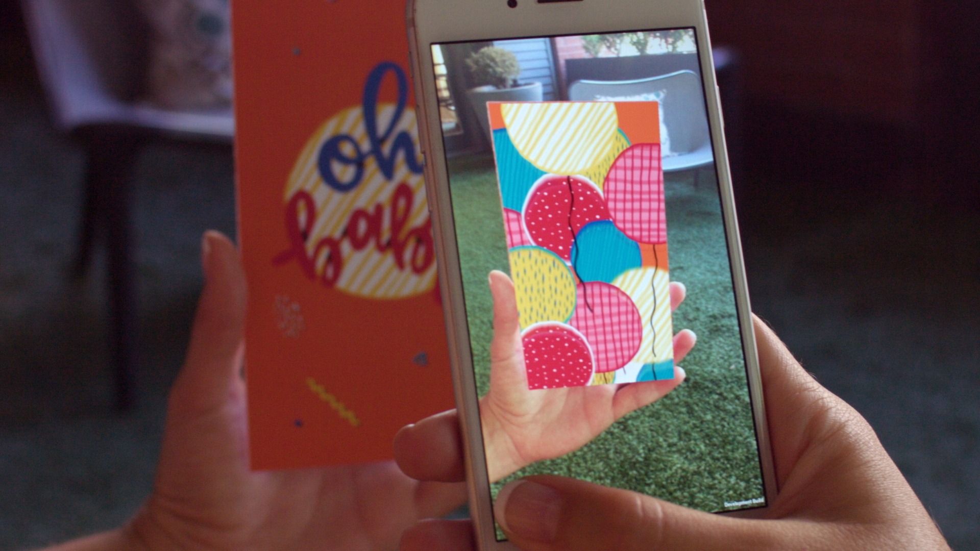 Kineticards Augmented Reality Greeting Cards