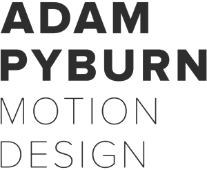 Adam Pyburn Motion Design