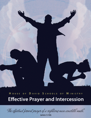 """Effective Prayer and Intercession - The effectual fervent prayer of a righteous man availeth much. James 5:16Many people pray, but not all are heard in Heaven (Isaiah 59:1-2); the teachings in this course will cause you to be heard in Heaven. If you desire to see greater results in your prayer life, or if you are called to be an intercessor (prayer warrior), this course will develop you to pray with power, Godly direction, and purpose. This course will give instruction in identifying hindrances to successful prayer. You will learn the dynamics of prayer and how to pray strategically. You will be equipped with spiritual warfare techniques that will broaden your prayer horizons. Each student of this course will be empowered by these teachings, which in turn will cause an increase in their effectiveness in prayer. You will learn how to pray with heavenly purpose, causing heavenly power to manifest through your petitions to God. You will gain an understanding of how to use the weapon of praise against the enemy causing the presence of God to manifest in your circumstances, as well as how to set an atmosphere for God's presence to come in, and more. Overall you will become a testimony of James 5:16b which says, """"…The effectual fervent prayer of a righteous man availeth much."""""""
