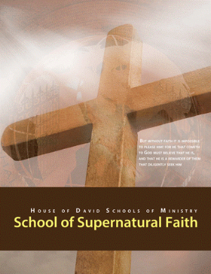 Supernatural Faith - But without faith it is impossible to please him: for he that cometh to God must believe that he is, and that he is a rewarder of them that diligently seek him. Hebrews 11:6God has made us a people of faith and we must have faith to please Him. Faith is a key principle for us to receive anything from God, as well as, to function in the Gifts of the Spirit and the power of God. This course will help you develop and increase your faith, which in turn will enable you to walk in the Spirit. You will learn the basis by which faith operates and is built upon. Many try to apply their faith and see no results, not realizing that faith must be placed upon a specific foundation. In this course you will learn this foundation, causing your faith to manifest God directed results. This course will strengthen you spiritually on every level, for it is through faith that all other things in God work. This course will increase your level of faith exponentially, causing great change in your life, as well as other people, places and things that you apply your faith to. You will also gain an understanding of the Gift of Faith according to 1 Corinthians 12. Those who submit to these teachings will learn to employ God's power in their lives and ministries.