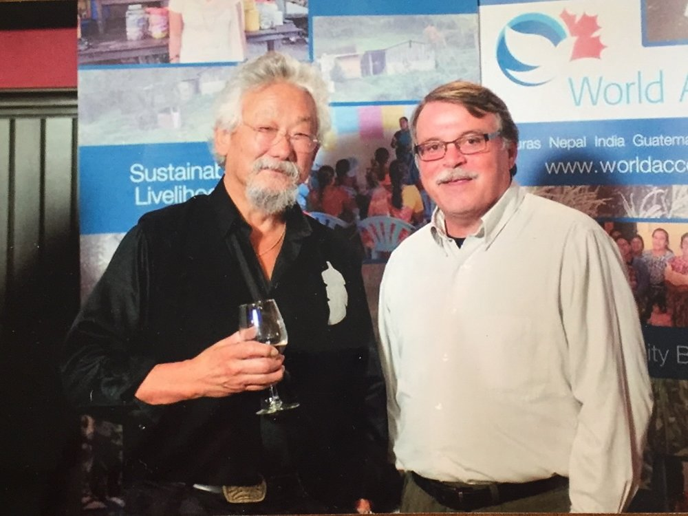 Copy of With David Suzuki at the World Accord in Borealis Grille, Kitchener