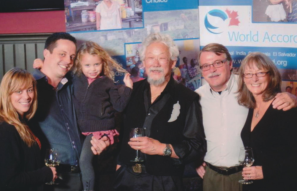 With David Suzuki at Kitchener Borealis