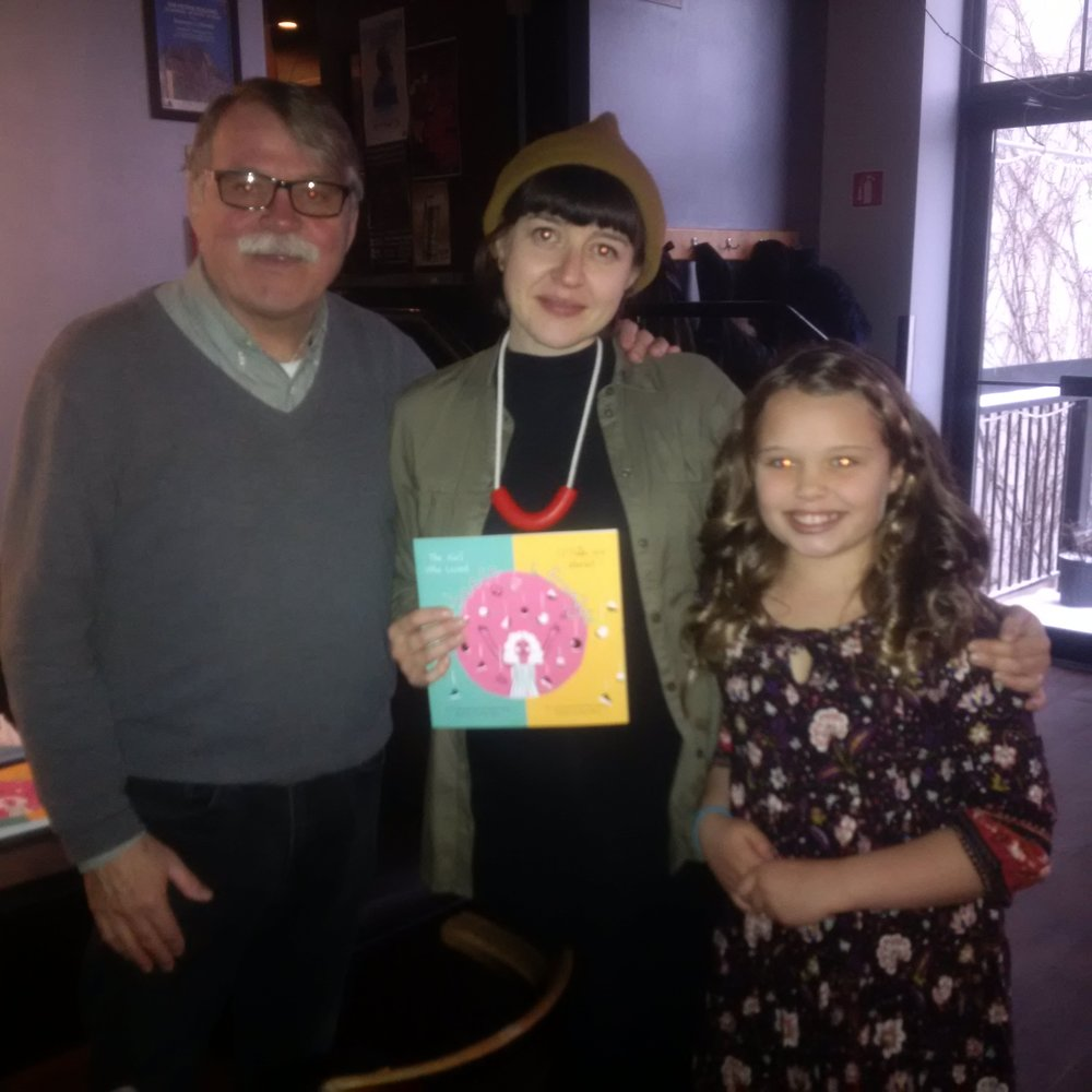 Book Launch 'Girl Who Loved Cheese' with artist Gillian Wilson and Ava