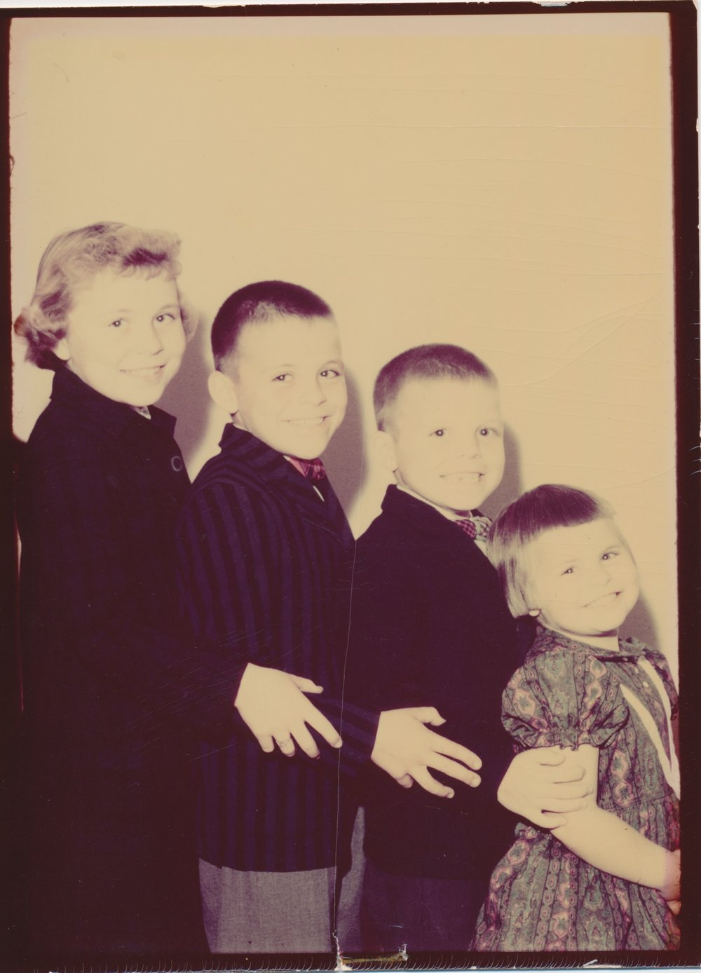 The Desautels Kids: Debbie, Bob, Rick & Catherine