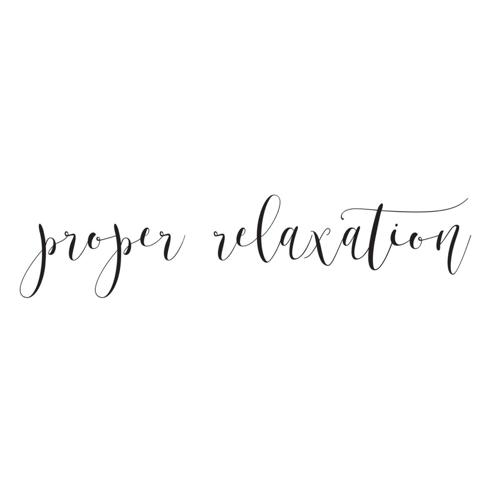 Proper relaxation allows true rejuivation for the body and mind. It eliminates and reduces stress, by naturally balancing the nervous system. It promotes our innate healing ability.