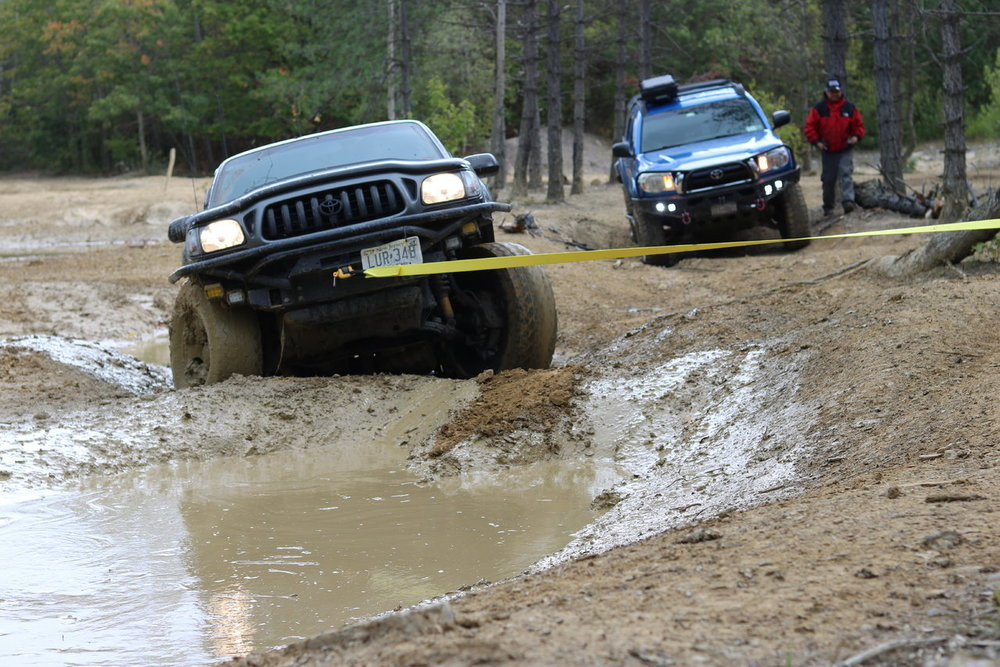 When trying to go around the mud backfires..