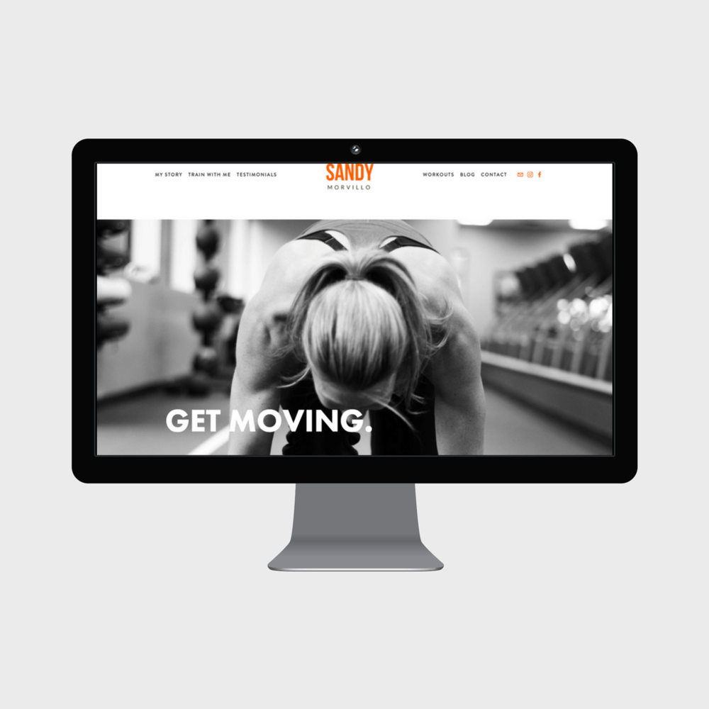 Sandy Morvillo Personal Trainer Squarespace Website.png