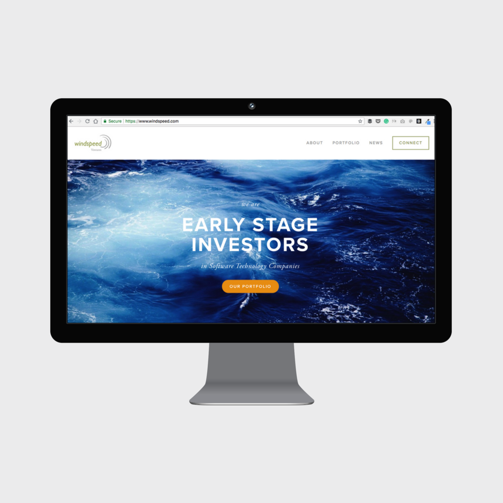 Update Old Website to Squarespace Venture Capital Firm Windspeed Ventures New Homepage Desktop.png