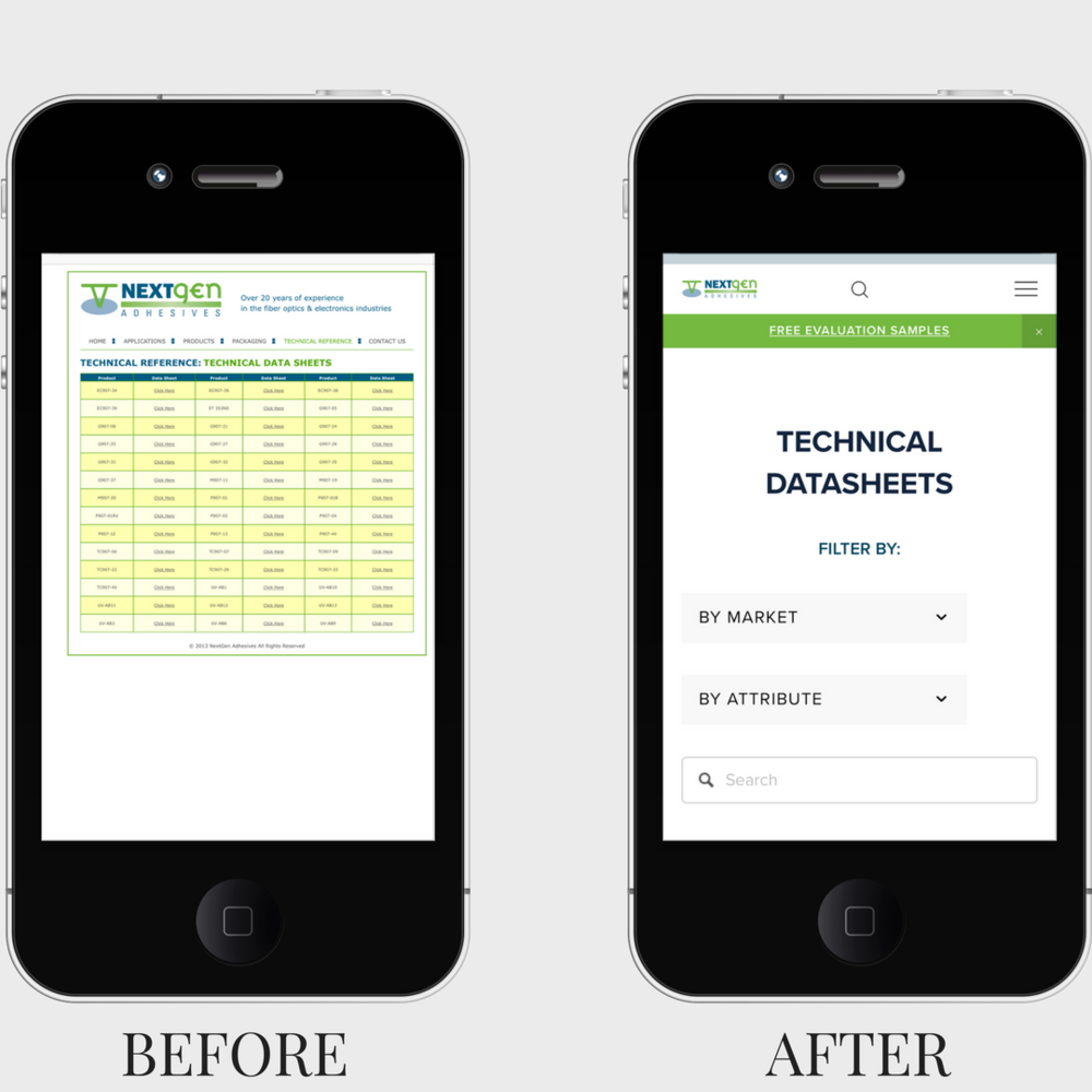 NextGen Adhesive Mobile before after technical datasheet.png