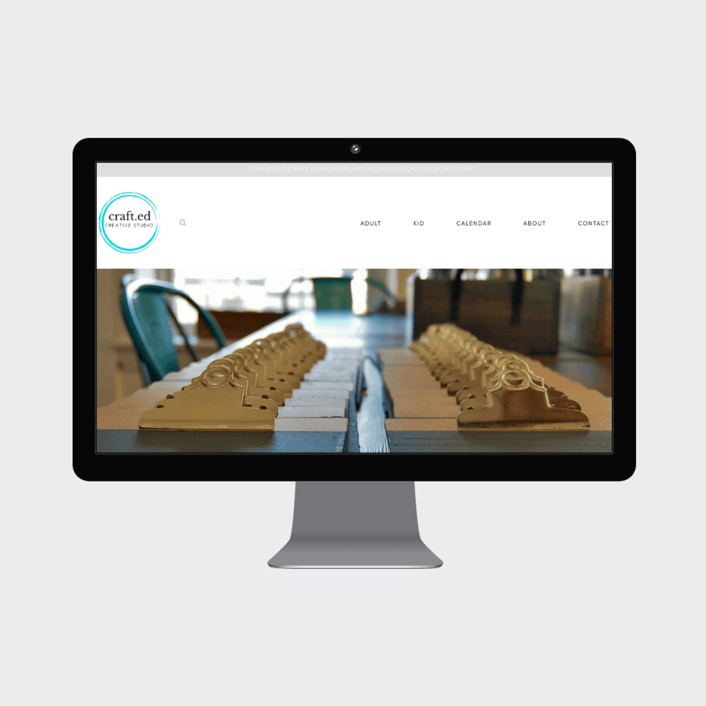 The Crafted Studio Concord MA Custom Squarespace Commerce Website 1.png