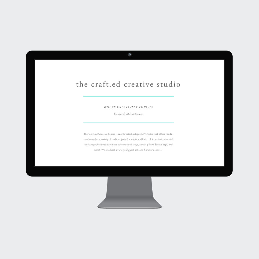 The Crafted Studio Concord MA Custom Squarespace Commerce Website 4.png