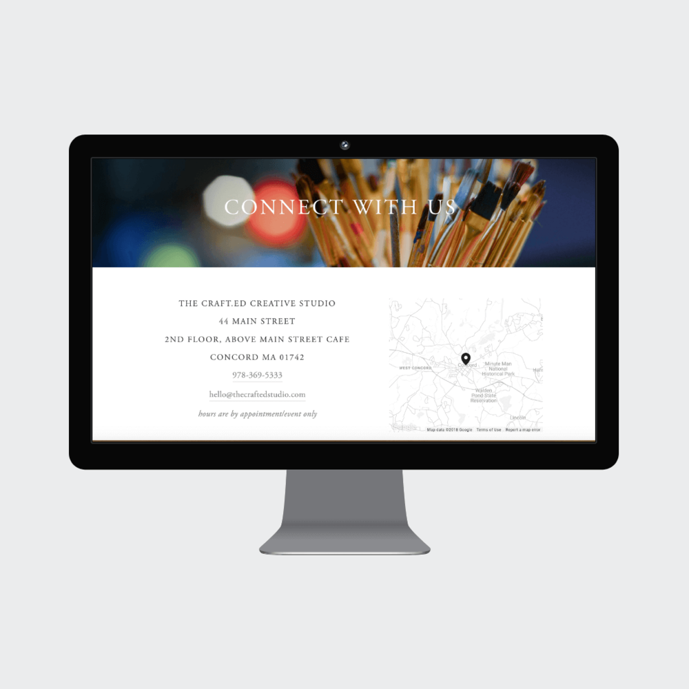 The Crafted Studio Concord MA Custom Squarespace Commerce Website 6.png
